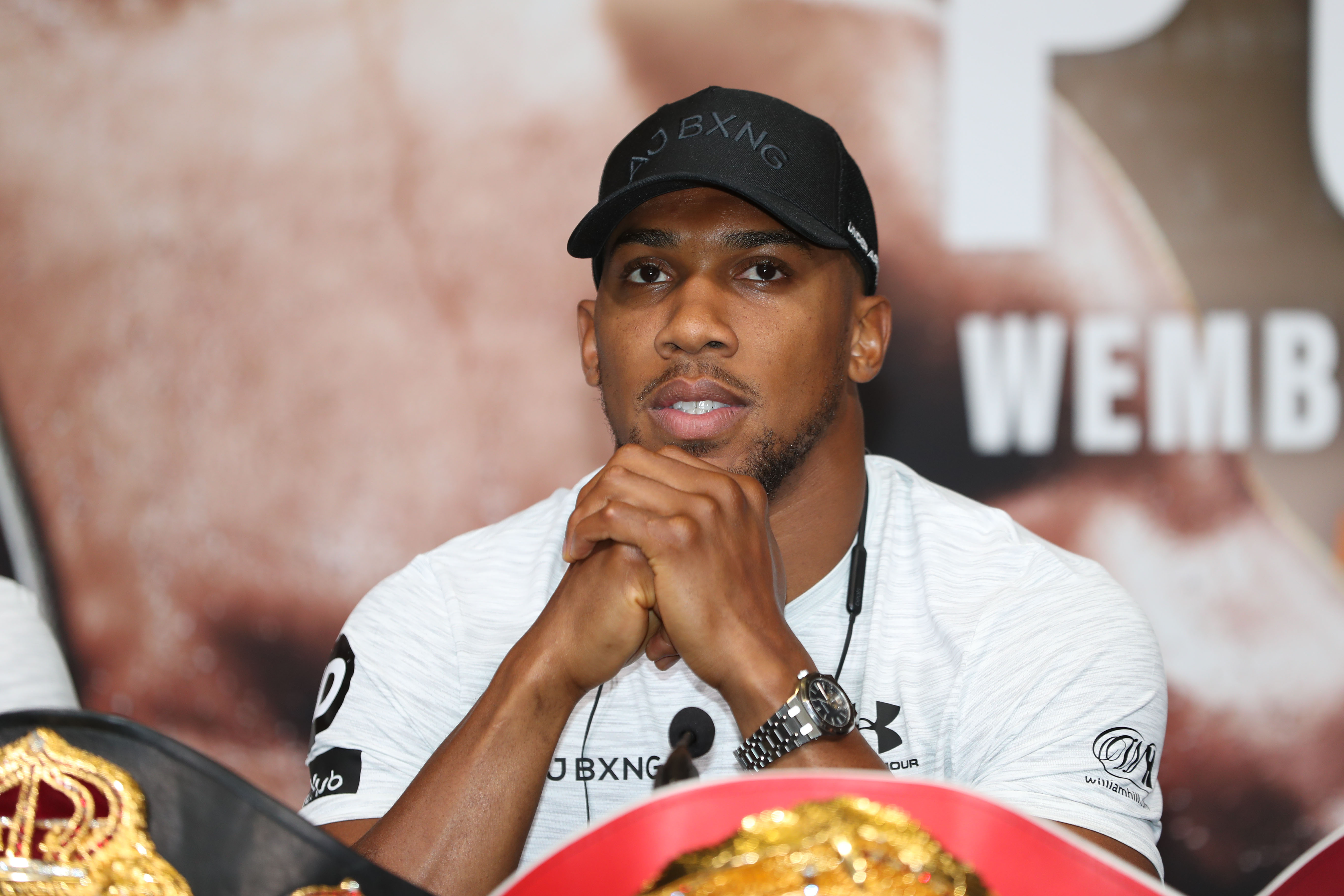Anthony Joshua worried?