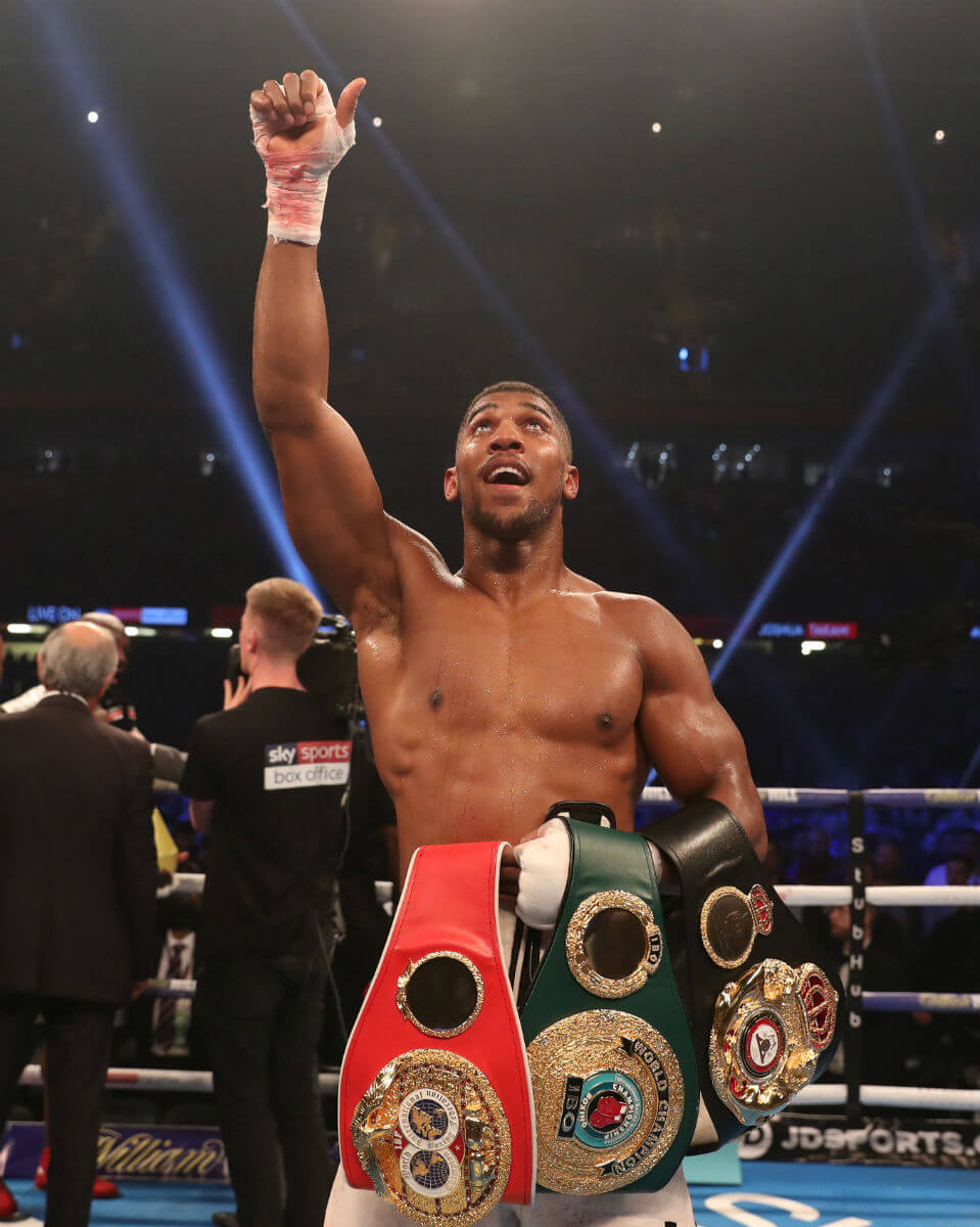 anthony joshua 11 awesome things you didn t know about the champ