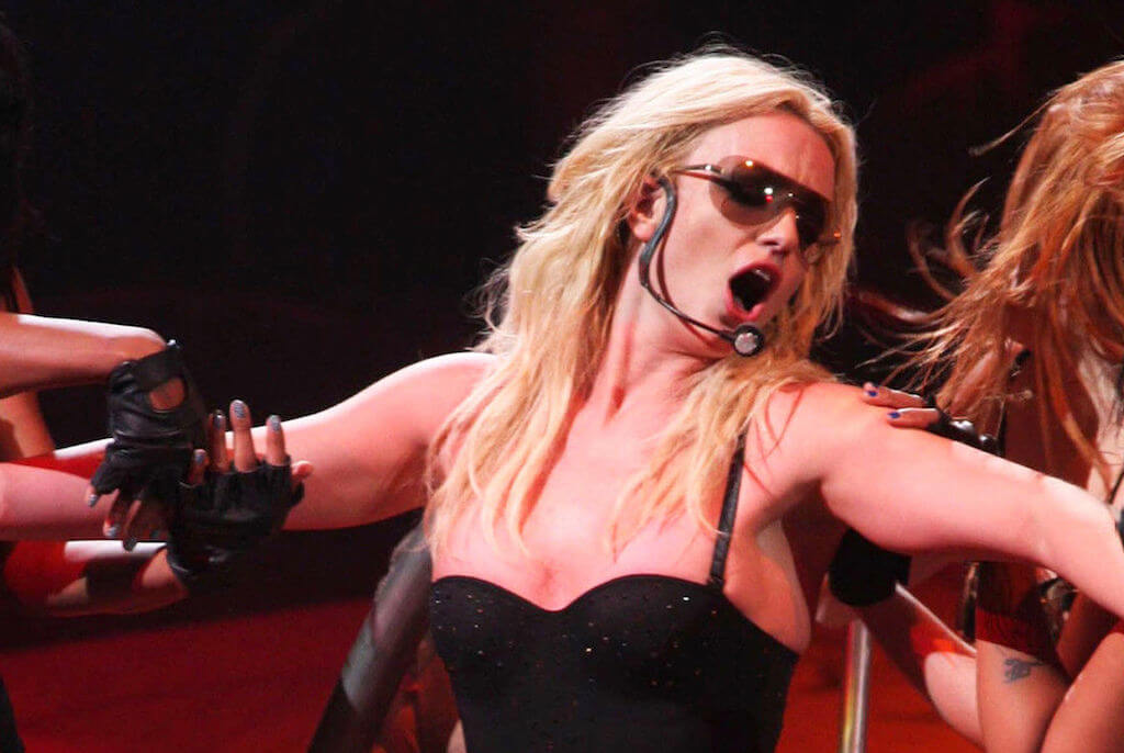 Britney Spears UK tour