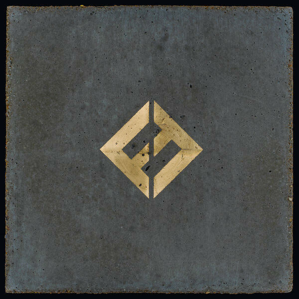 Foo Fighters Concrete and Gold 2017 album cover