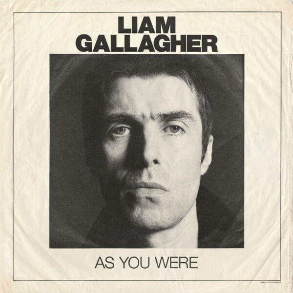 Liam Gallagher As You Were 2017 album cover