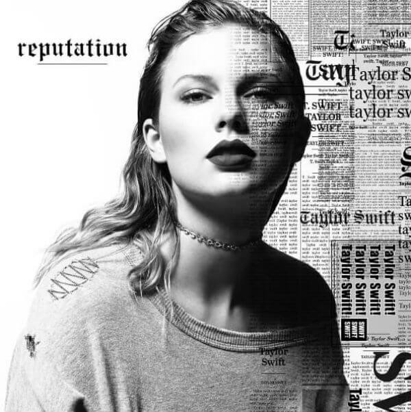 Taylor Swift Reputation 2017 album cover