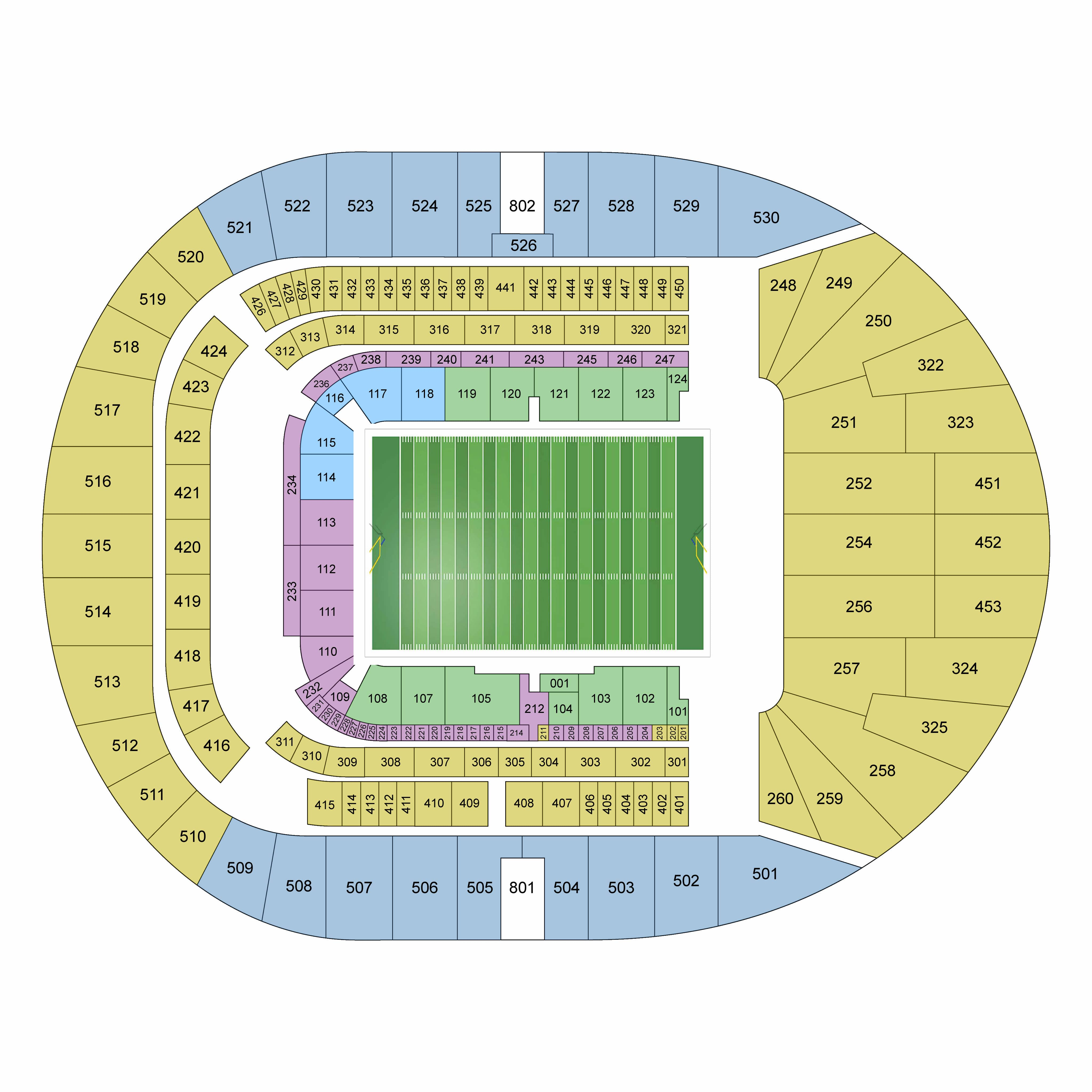 Nfl London 2019 Confirmed Schedule Seating Plan And Tickets Info Lineup Magazine