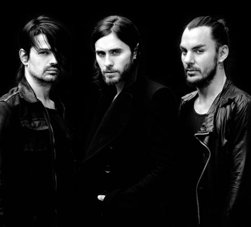 Thirty Seconds to Mars: Jared Leto, Shannon Leto and Tomo Miličević