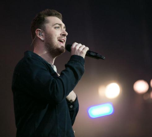 Sam Smith live on stage
