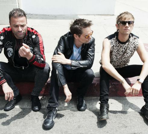Muse on a curb
