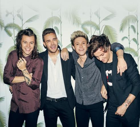 One Direction: Harry Styles, Liam Payne, Louis Tomlinson and Niall Horan