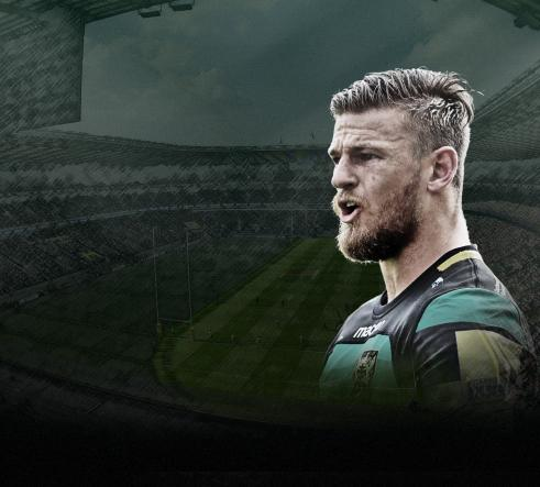 Northampton Saints Rob Horne