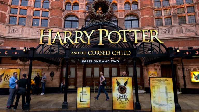 Harry Potter and the Cursed Child at the Palace Theatre London
