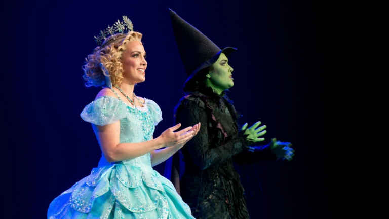 Wicked live on stage