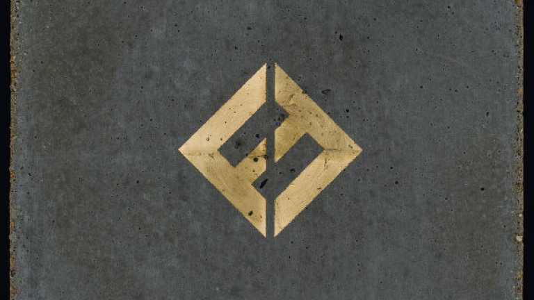 Foo Fighters Concrete and Gold album cover