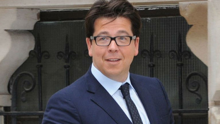 Michael McIntyre wearing glasses