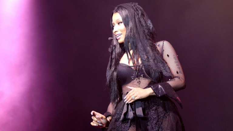 Nicki Minaj live in concert