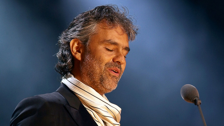 Andrea Bocelli in UK